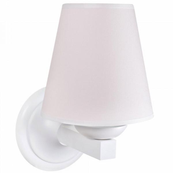 Caramella Wandlampe Nadelstreifen rosa
