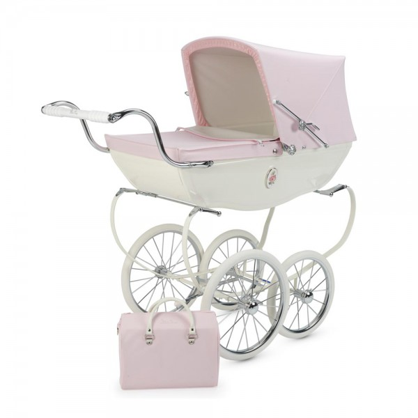 Silver Cross Puppen Kinderwagen Chats Worth rosa weiss