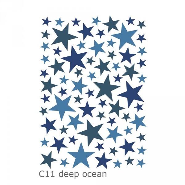 Lilipinso Wandsticker Basics gemischte Sterne
