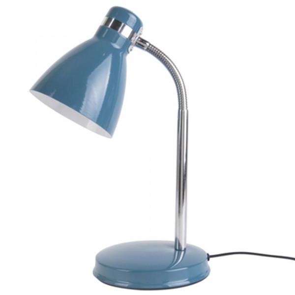 """Present Time Leitmotiv Schreibtischlampe """"Study"""" blau"""