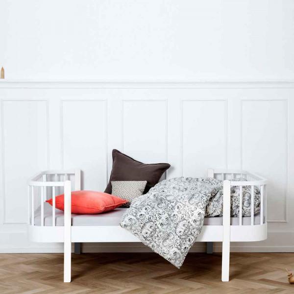 Oliver Furniture Wood Junior-/Kinderbett weiß inkl. Umbau