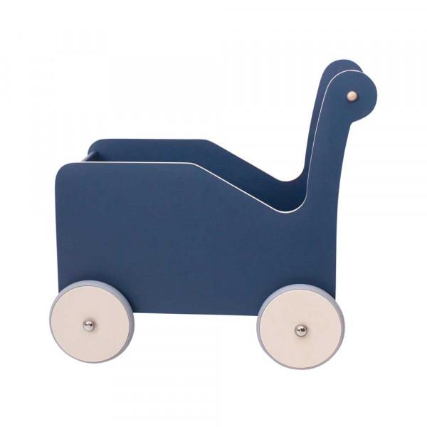 Sebra Lauflernwagen Holz blau