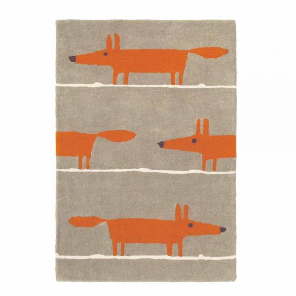 Scion Teppich Wolle Mr. Fox Zimt