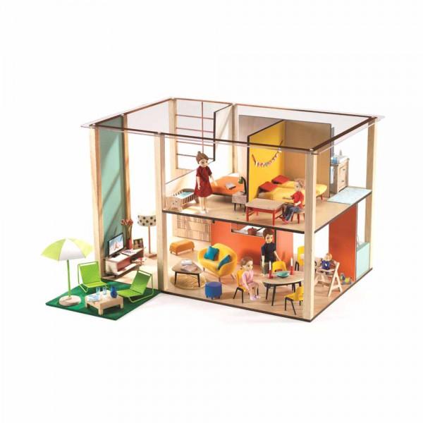 Djeco Puppenhaus Cubic