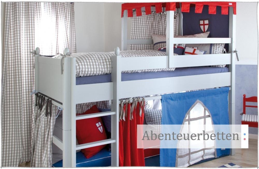 Klettergerüst Holz Kinderzimmer : Abenteuerbetten für kinder räume magazin