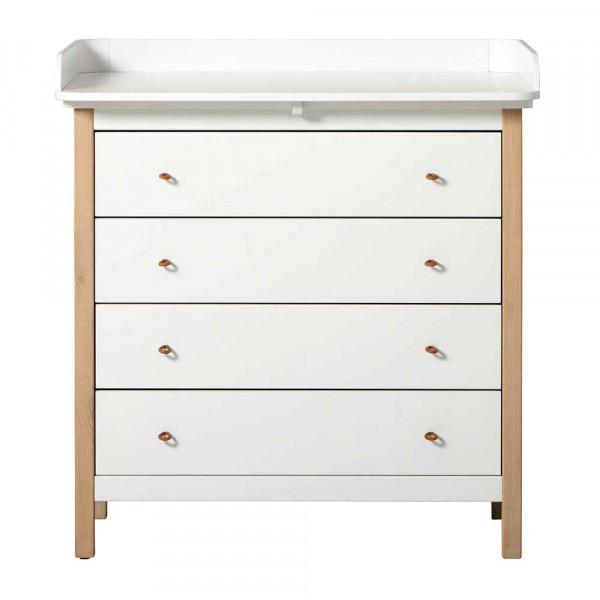 Oliver Furniture Wood Wickelkommode Eiche