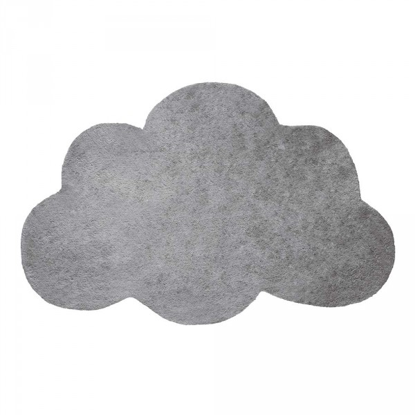 Lilipinso Teppich Wolke grau