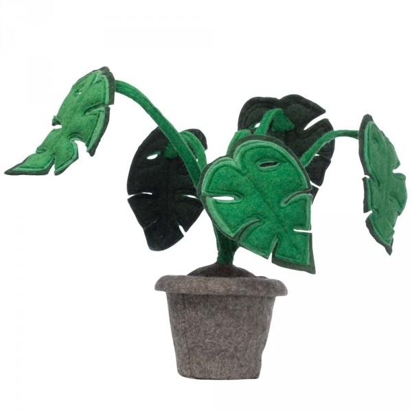 Kidsdepot Deko Pflanze Filz Monstera
