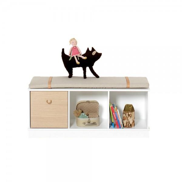 Oliver Furniture Wood Standregal schmal & niedrig