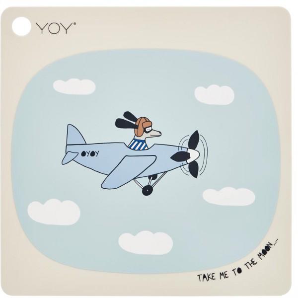 Oyoy Kinder Tischset / Platzset Flieger