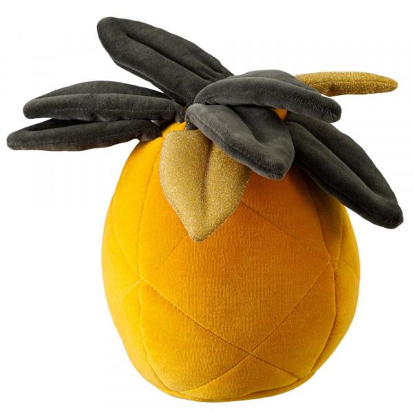 Wigiwama Spielkissen Samt Ananas