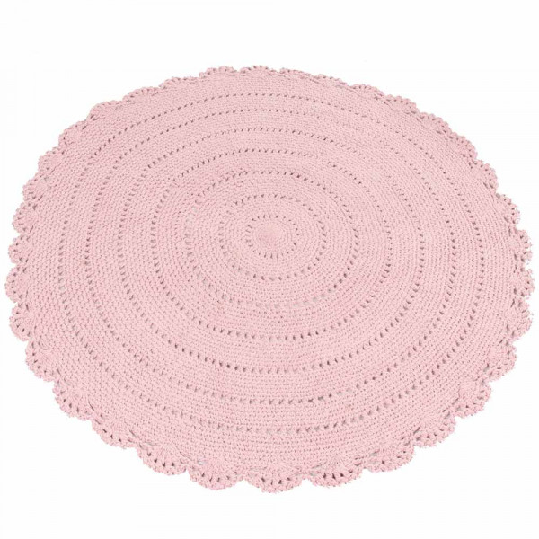"Kidsdepot runder Teppich ""Roundy"" rosa"