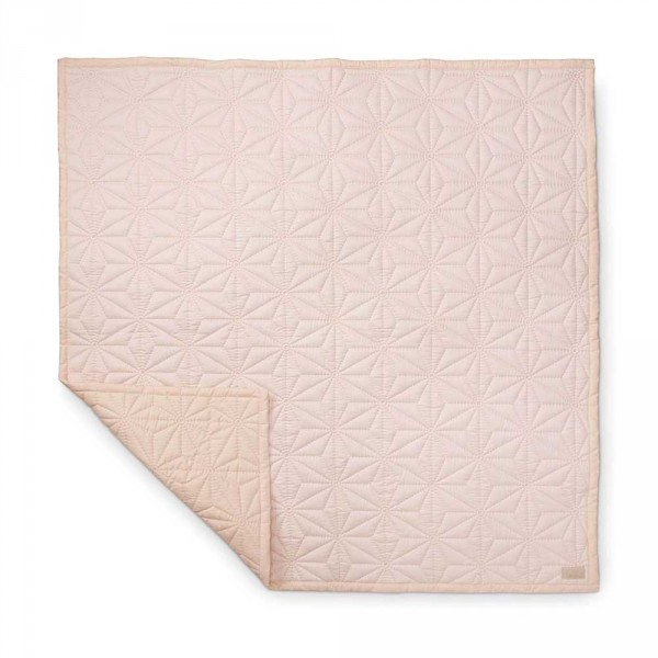 Cam Cam Kinderdecke Quilt 140 x 200 rosa