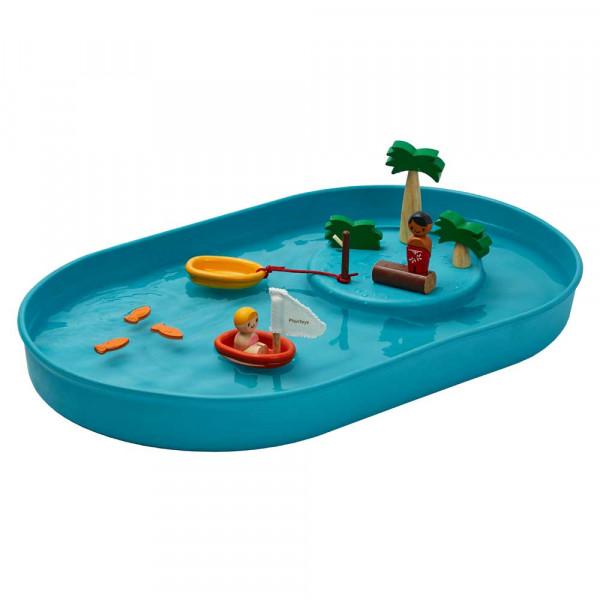 Plan Toys Wasserspiel-Set Insel