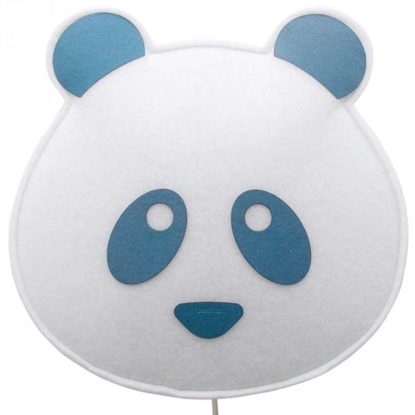 Buokids Soft Wandlampe Panda Bär blau