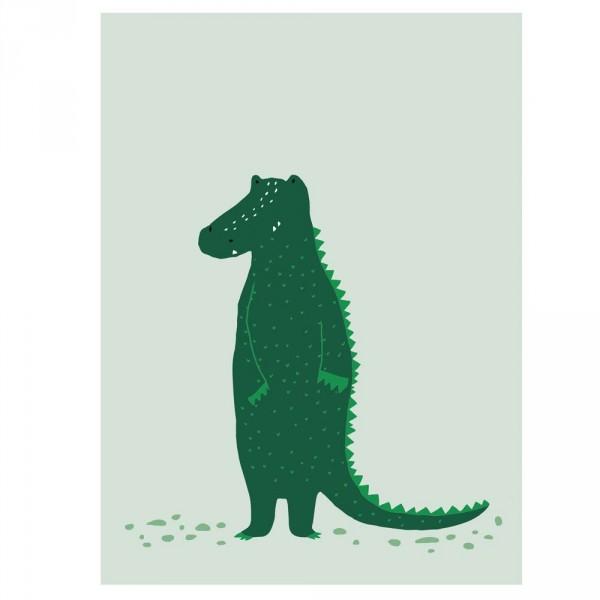 Trixie Kinderposter Krokodil
