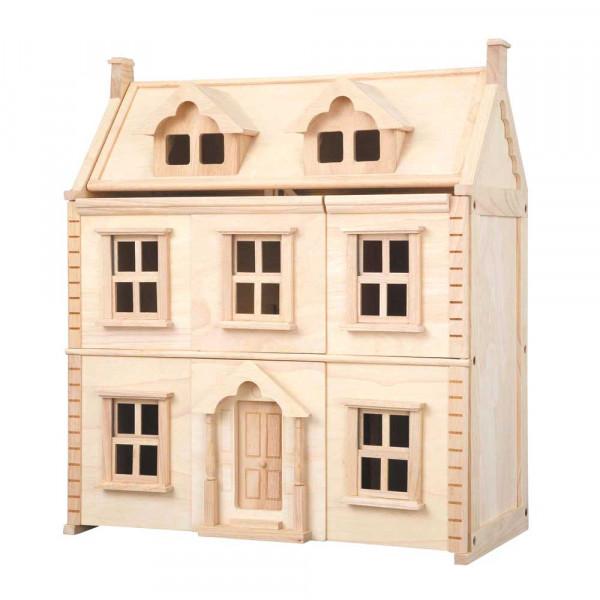 Plan Toys Puppenhaus viktorianisch Holz natur