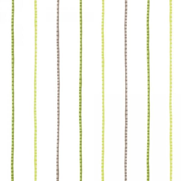 Casadeco Alice & Paul Tapete Streifen grün braun