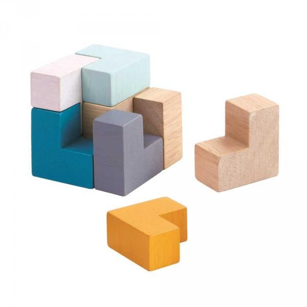 Plan Toys Puzzle Würfel Holz