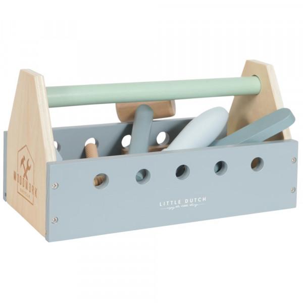 Little Dutch Holzspielzeug Kinder Werkzeugkasten
