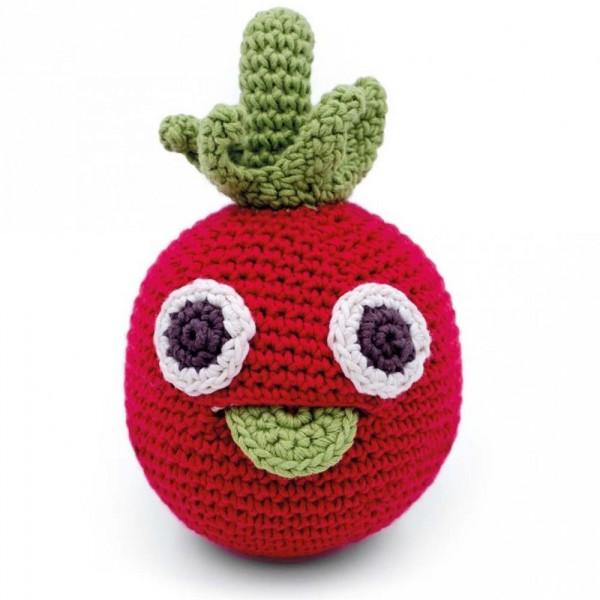 Myum Babyrassel gestrickt Tomate Albert