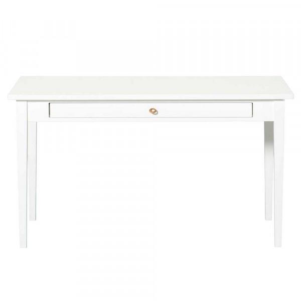 Oliver Furniture Seaside Tisch mit Lederband Holz weiss
