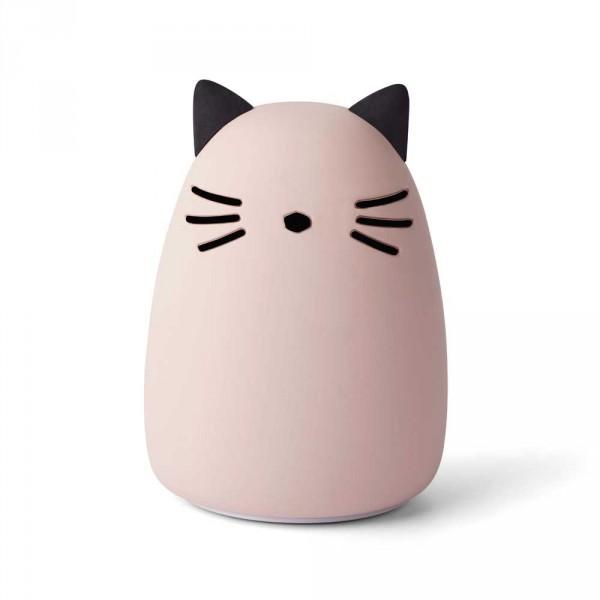"""Liewood """"Winston"""" Nachtlicht Katze rosa"""