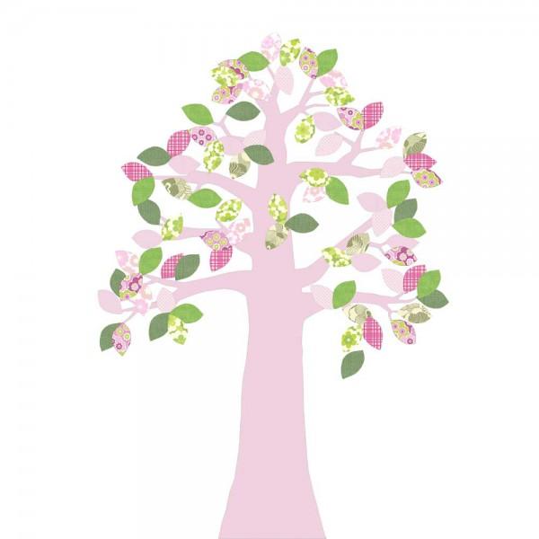 Inke Tapetenbaum rosa mit Krone