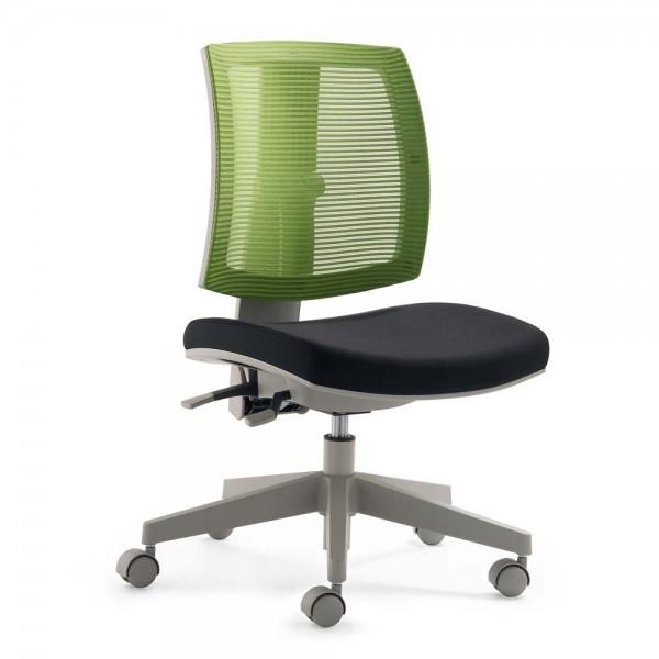 Mayer Kinder Bürostuhl flexo Netz grün