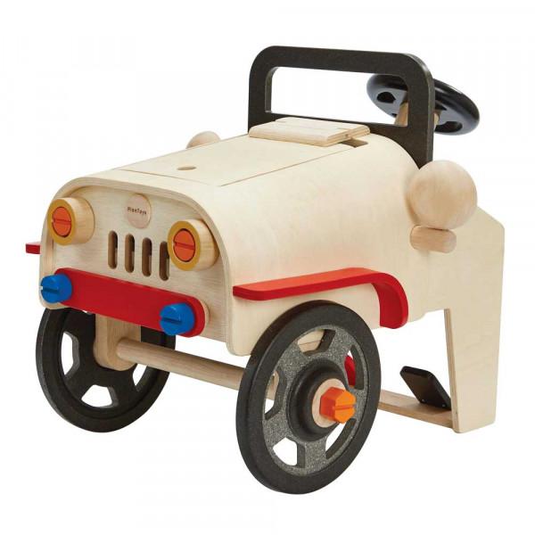 Plan Toys Spielzeug Automechaniker/Fahrsimulator Holz