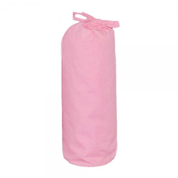 Taftan Spannbettlaken 70 x 140 cm uni rosa