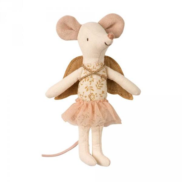Maileg Schutzengel Maus mit Köfferchen